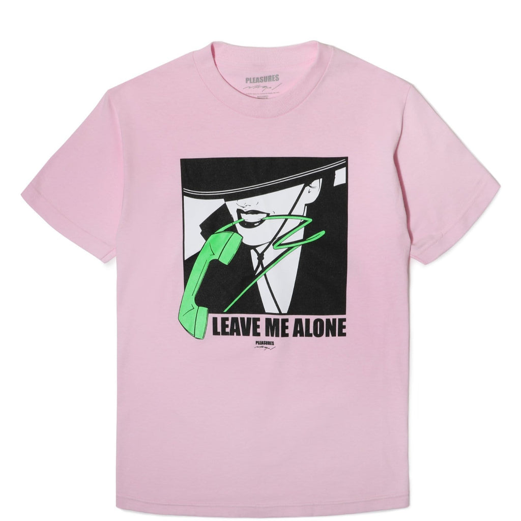 Pleasures TELEPHONE SS T-SHIRT Pink