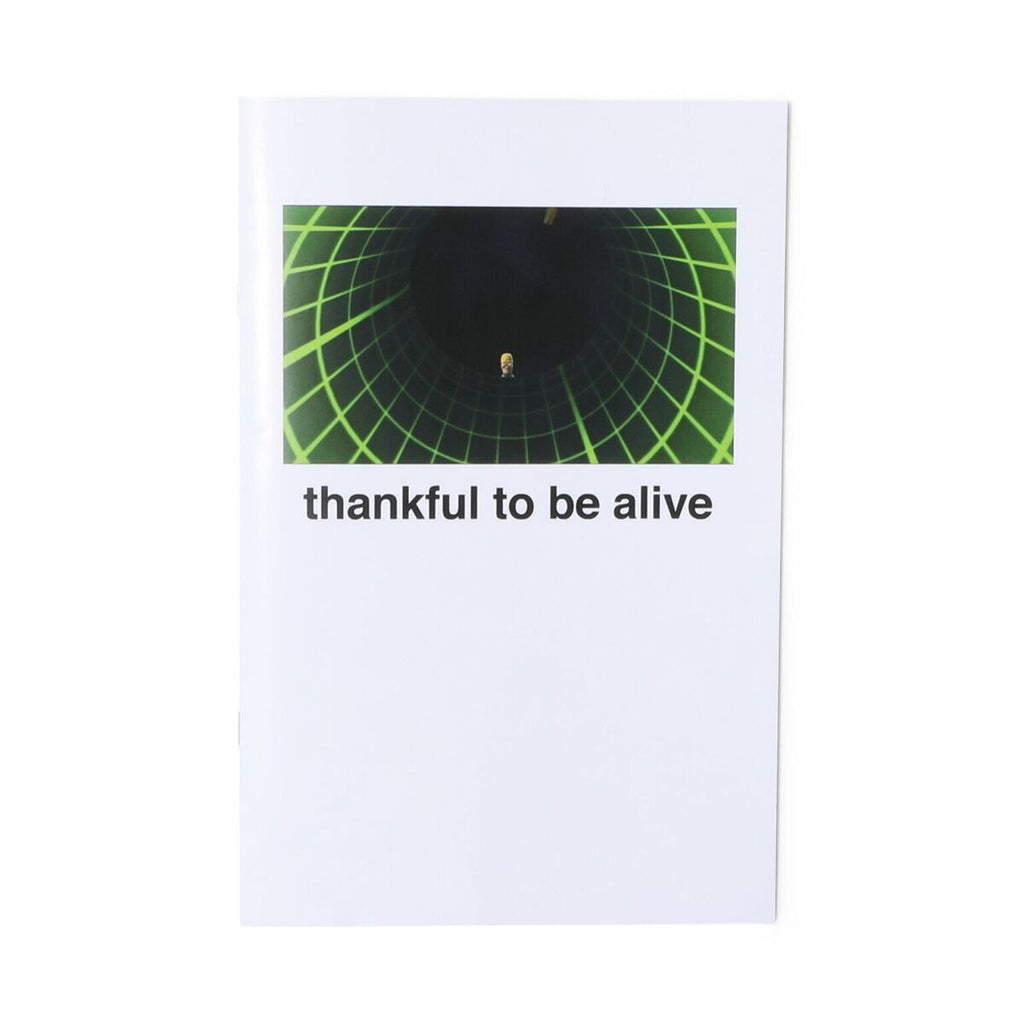 Straws USA THANKFUL TO BE ALIVE ZINE