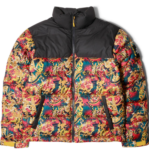 The North Face Black Box Collection M 1992 NUPTSE JACKET Leopard Yellow/Genesis