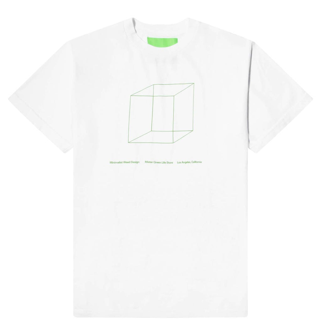 Mister Green T-Shirts MINIMALIST WEED DESIGN SHOP TEE