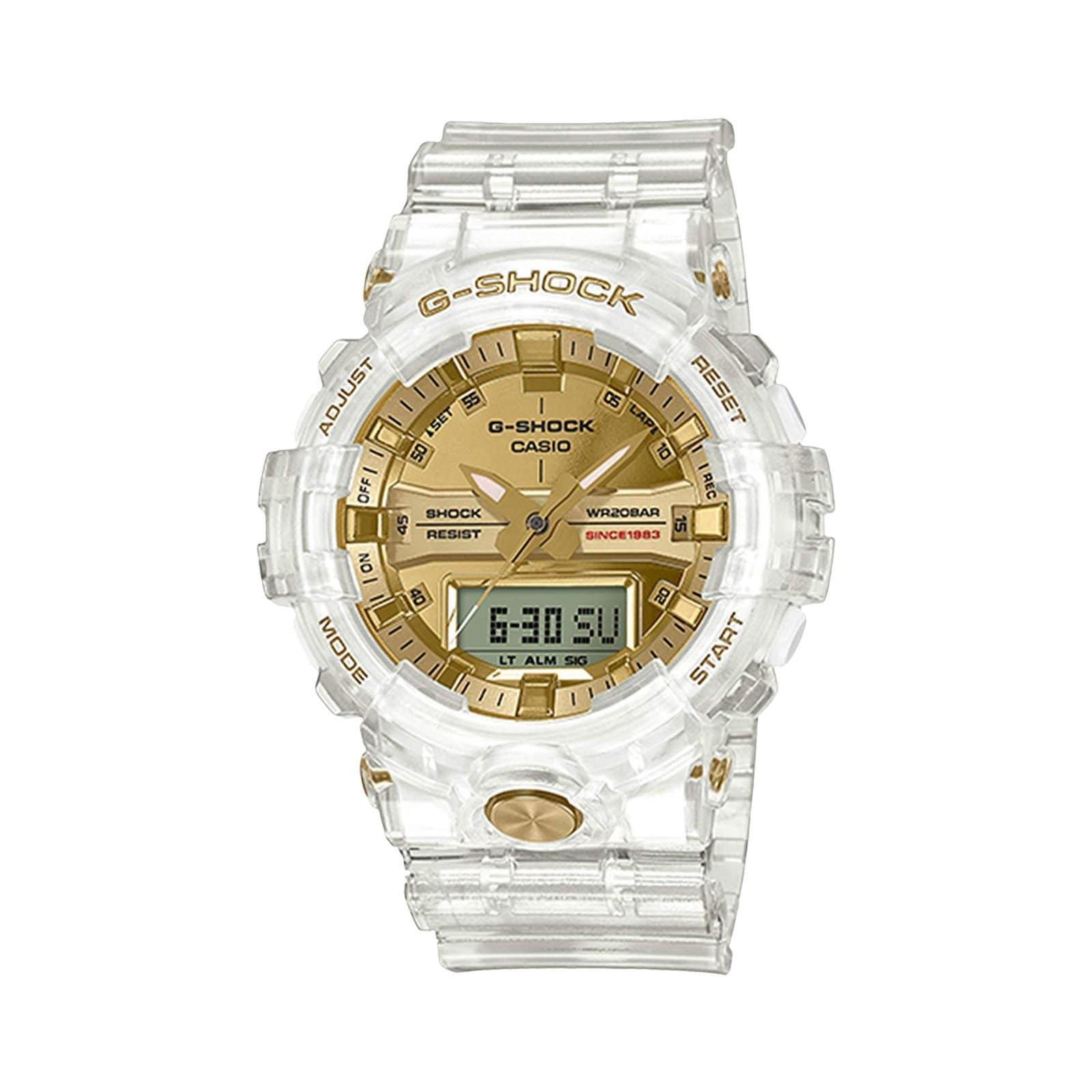 G-Shock Bags & Accessories TRANSPARENT/GOLD / O/S GA835E-7A