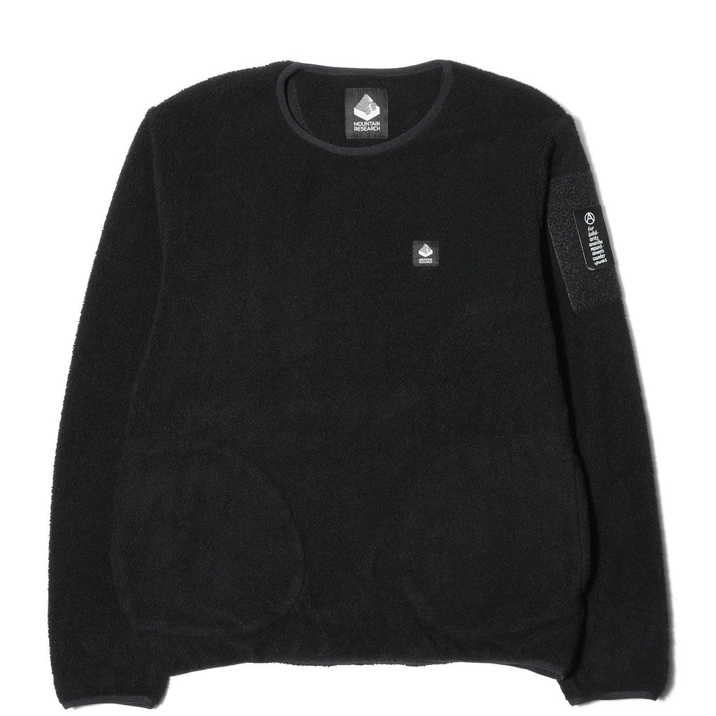Mountain Research CREW JUMPER Black