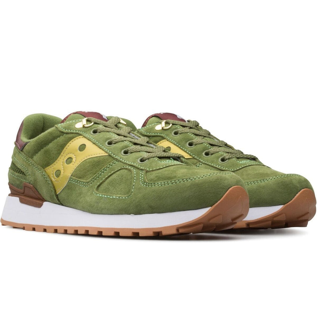 "Saucony SHADOW ORIGINAL ""Park Ranger"" (Green/Gold)"