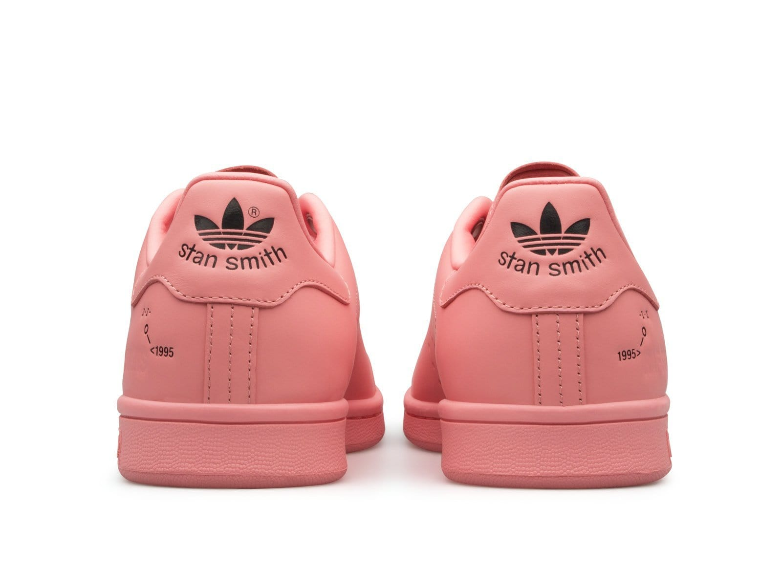 huge discount a7a45 d4fe6 Adidas Raf Simons STAN SMITH RosePink