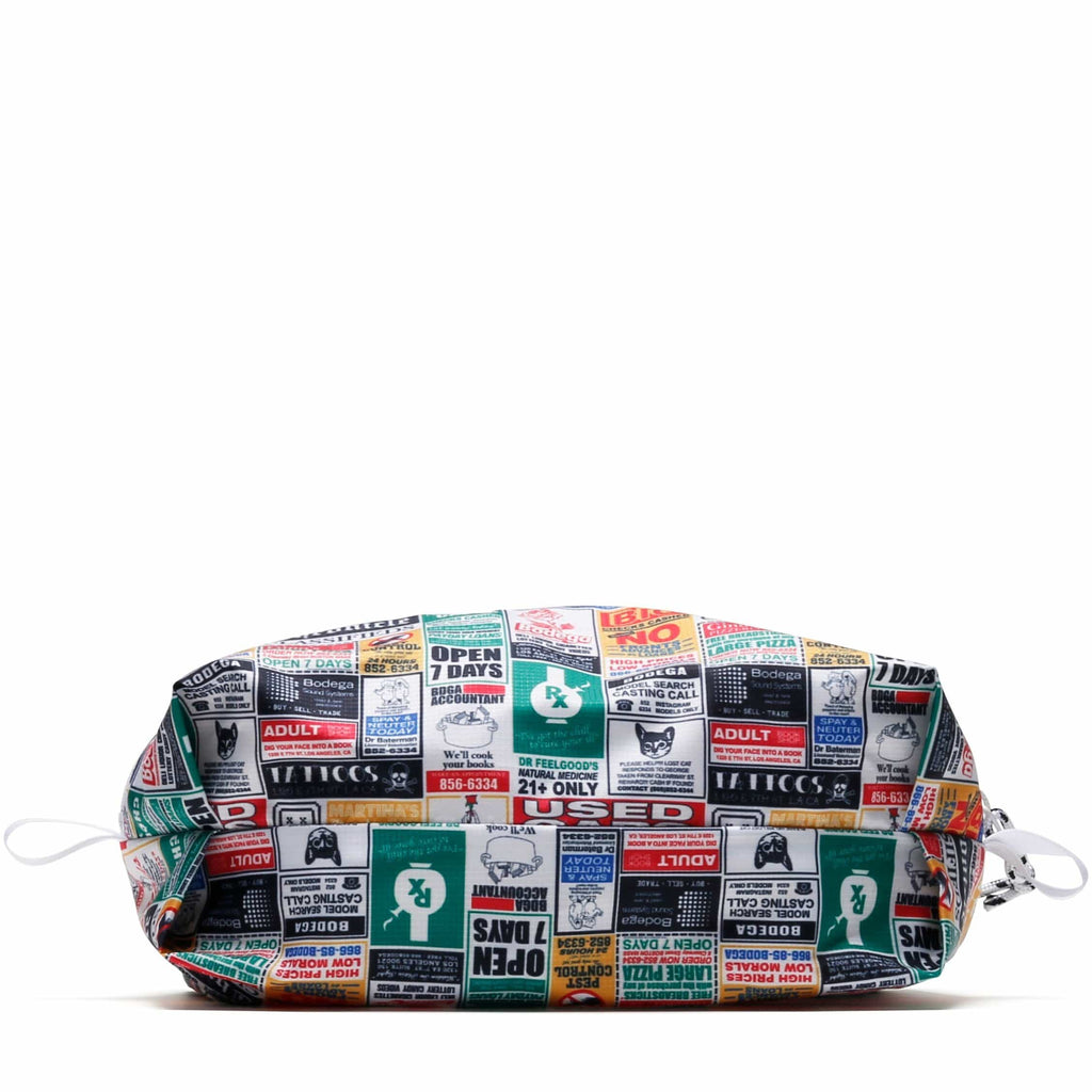 Bodega Innersect F@BRICK LIGHT ZIP POUCH All Over Print