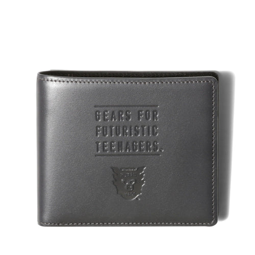 Human Made LEATHER BILL FOLD Black