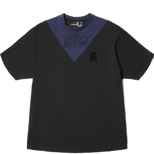 Fred Perry x Raf Simons V-INSERT T-SHIRT Black