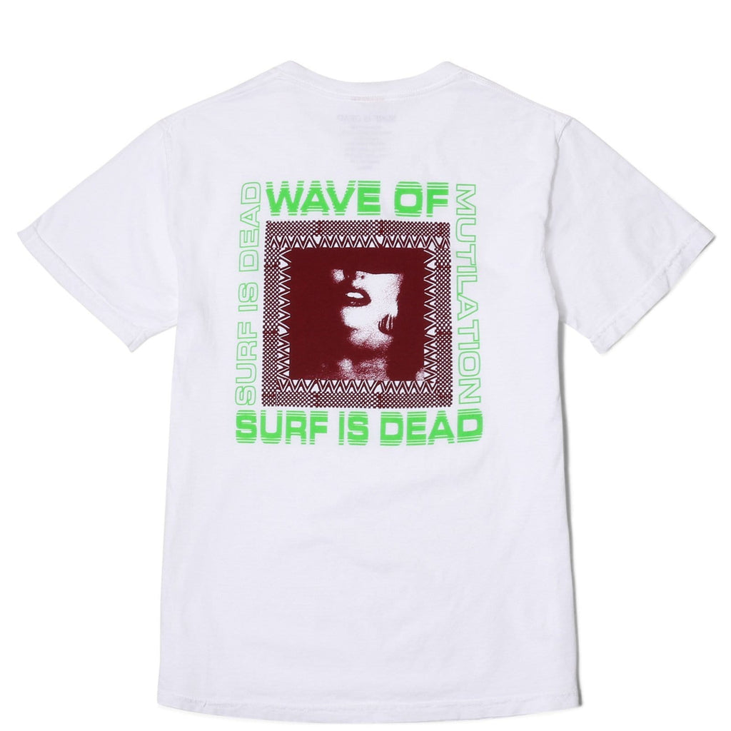 Surf Is Dead WAVE OF TEE White