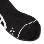 Load image into Gallery viewer, Ader Error Bags & Accessories BLACK / O/S / 20ASSSO12BK SMALL LENTICULAR LOGO SOCKS
