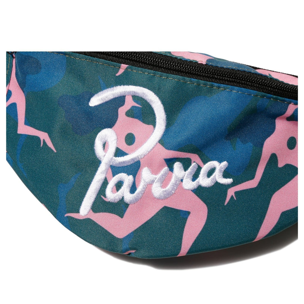 By Parra WAIST PACK MUSICAL CHAIRS Green