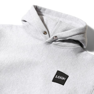 LQQK Studio Hoodies & Sweatshirts SIGNATURE SNAP HOODY