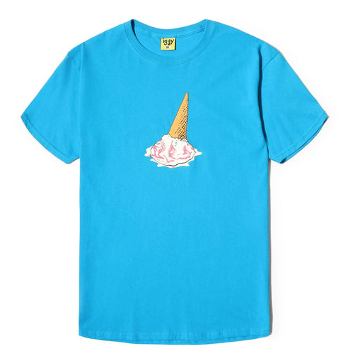 Iggy MELTING AWAY T-SHIRT Pacific Blue