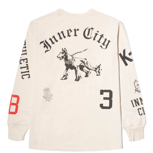Honor The Gift K-9 LS TEE Off White