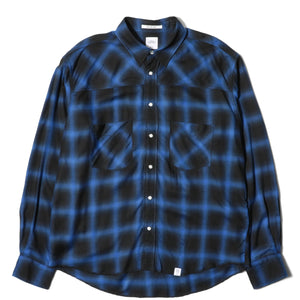 Bedwin and the Heartbreakers Shirts PORK LS OMBRE CHECK WESTERN SHIRT