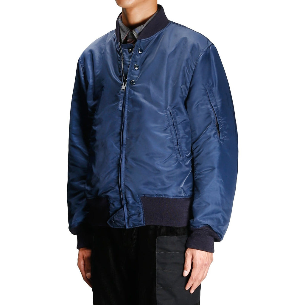 Engineered Garments AVIATOR JACKET Dark Navy Sateen