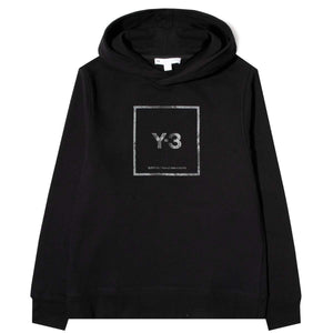 adidas Y-3 sweat SQUARE LABEL GRAPHIC HOODIE