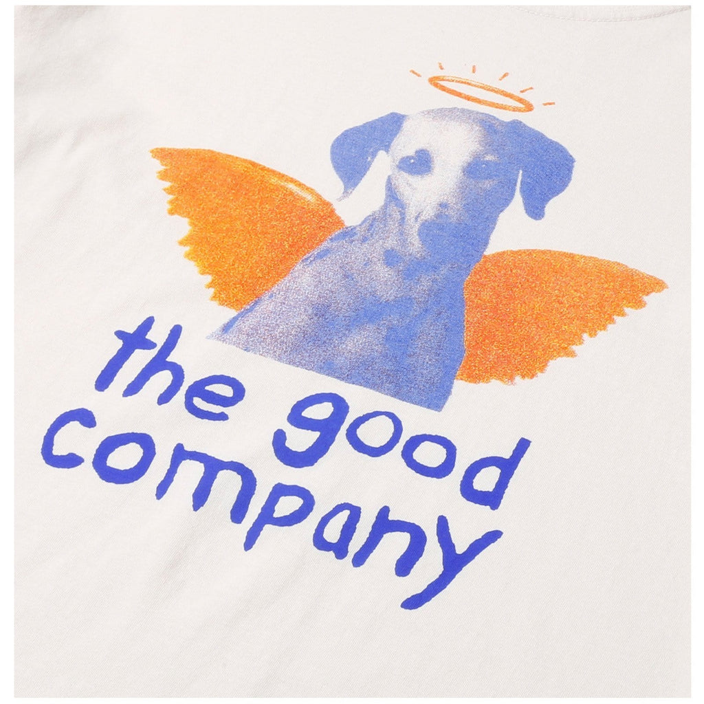 The Good Company HEAVEN TEE Washed Ivory