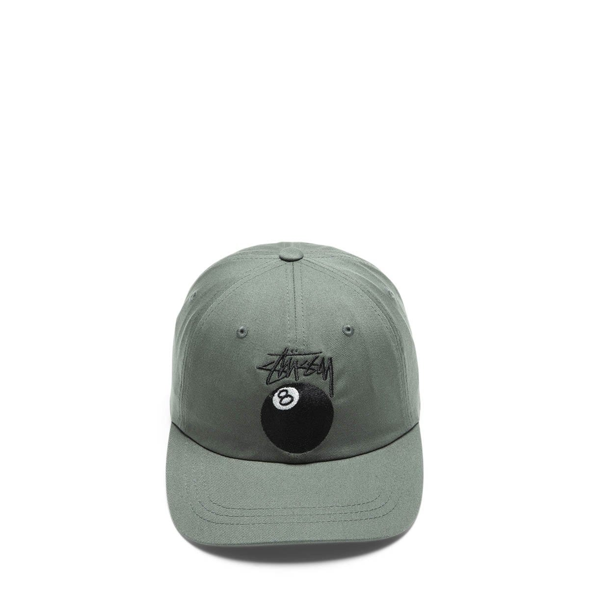Stüssy Headwear OLIVE / OS STOCK 8 BALL LOW PRO CAP