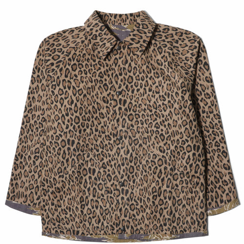 Needles REVERSIBLE FIELD JACKET Leopard/Tiger Camo
