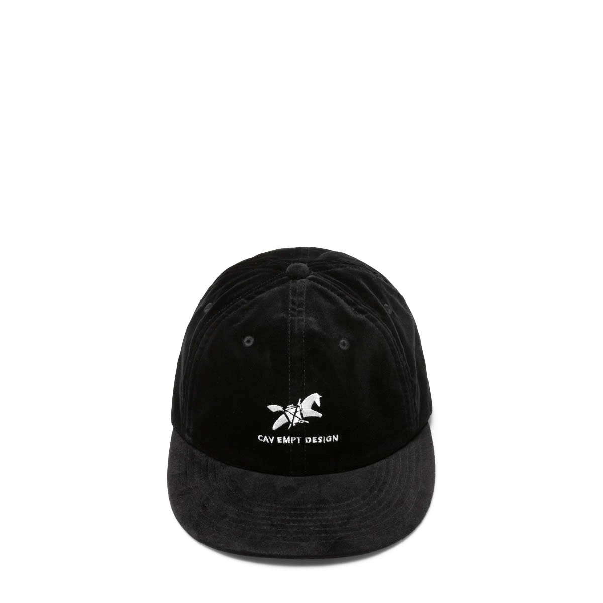 Cav Empt Headwear BLACK / OS WASTE SADDLE LOW CAP