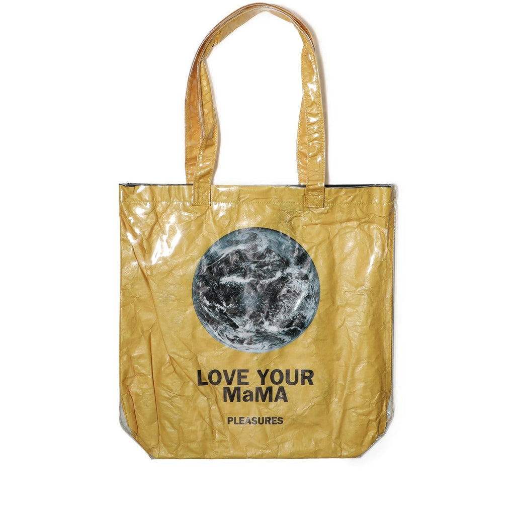 Pleasures MAMA PLASTIC TOTE BAG Gold