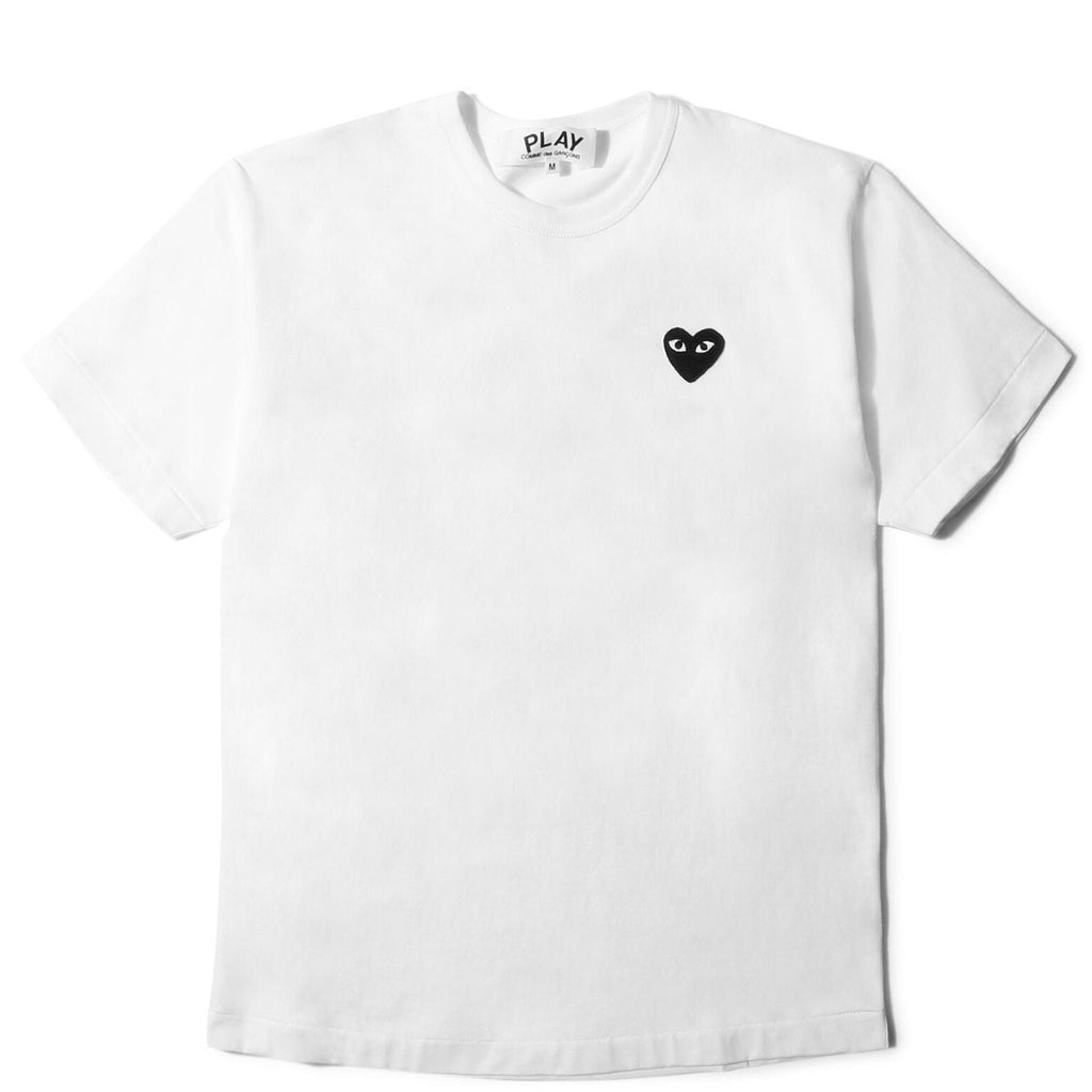 Comme des Garcons PLAY T-SHIRT (White)