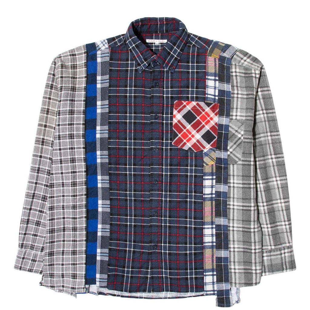 Needles Shirts ASSORTED / XL 7 CUTS FLANNEL SHIRT SS21 26