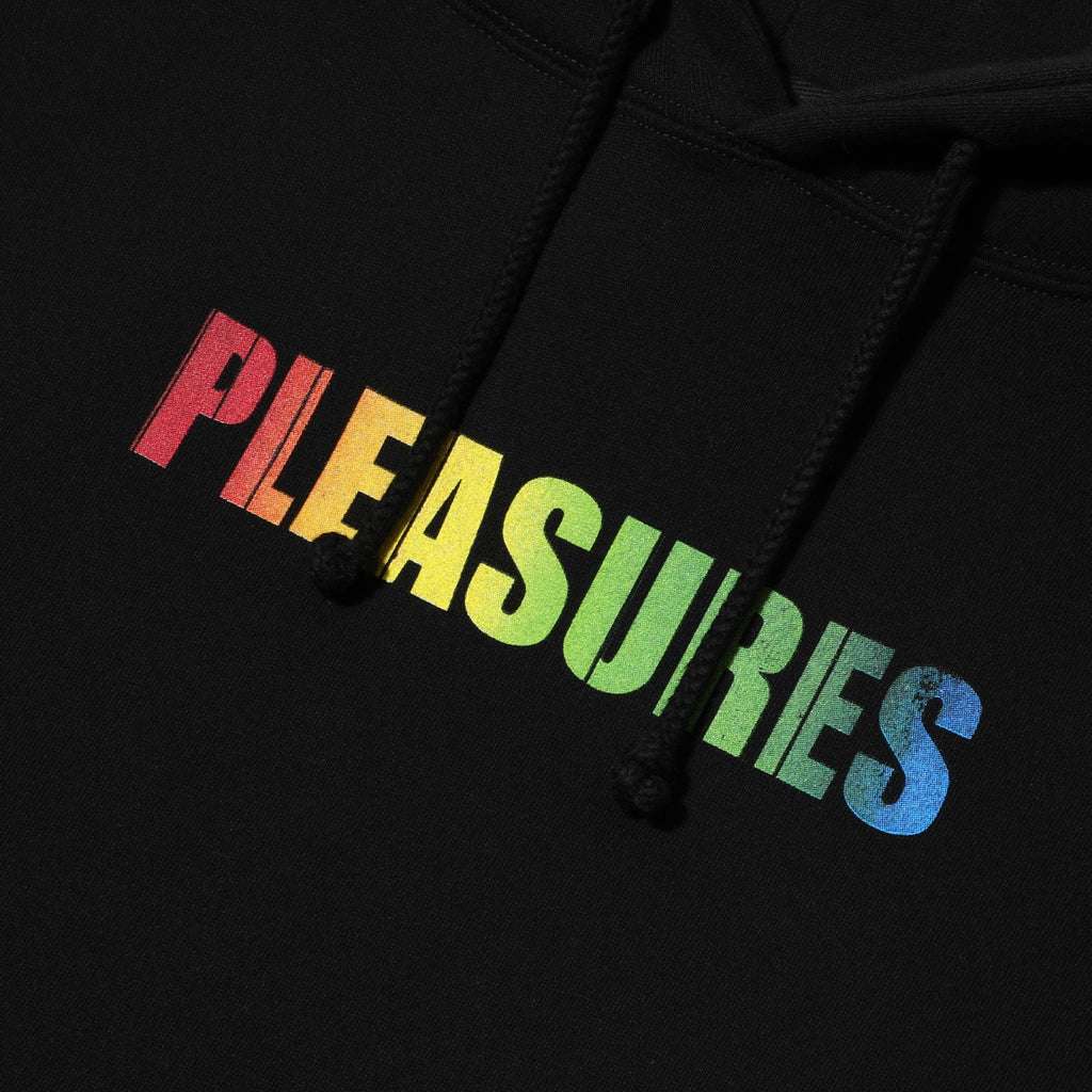 Pleasures SPECTRUM HOODY Black