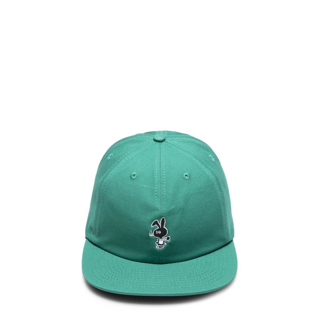Cold World Frozen Goods Headwear TEAL / O/S COLD BUNNY UNSTRUCTURED 6 PANEL