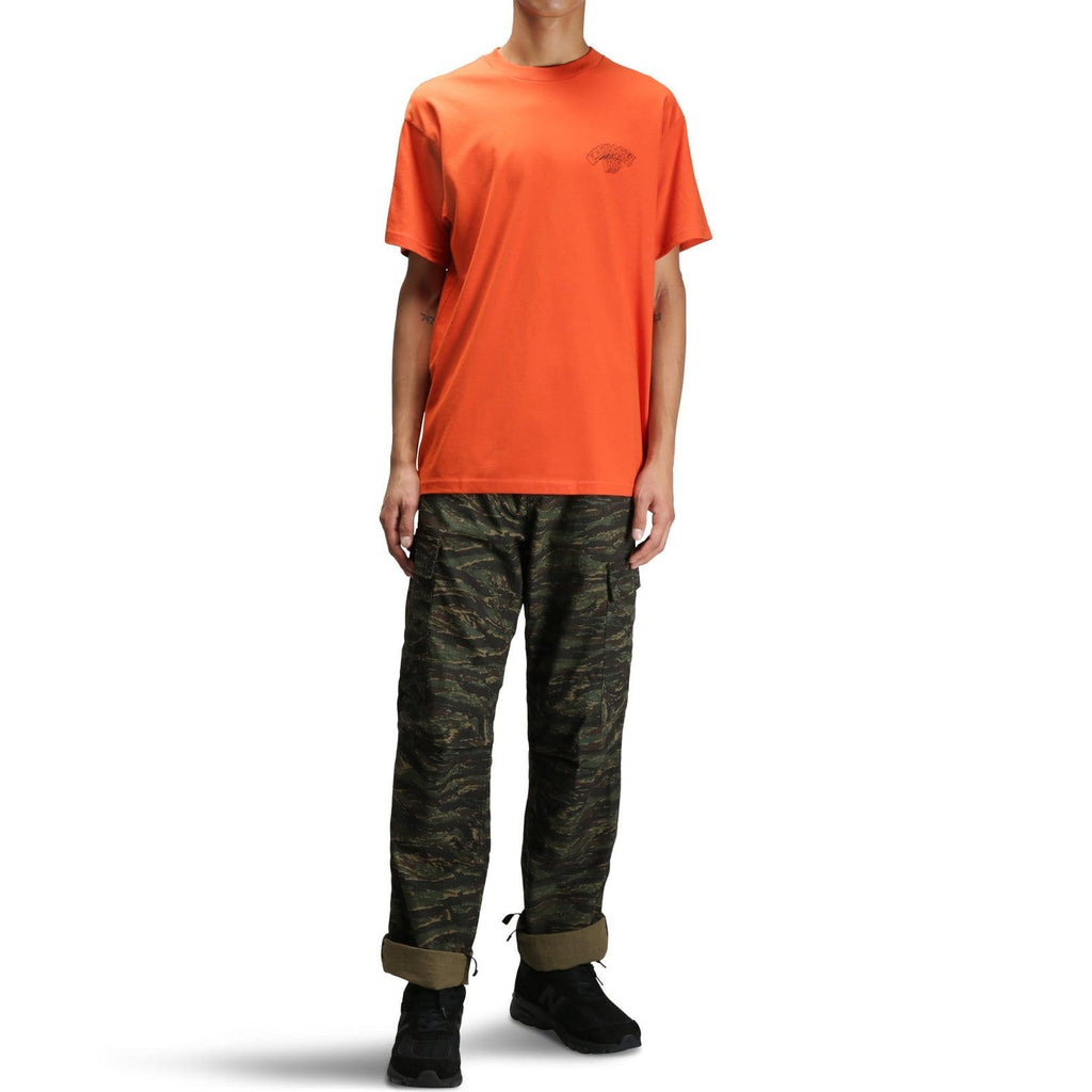 Carhartt W.I.P. S/S BACKDROP T-SHIRT Persimmon/Black