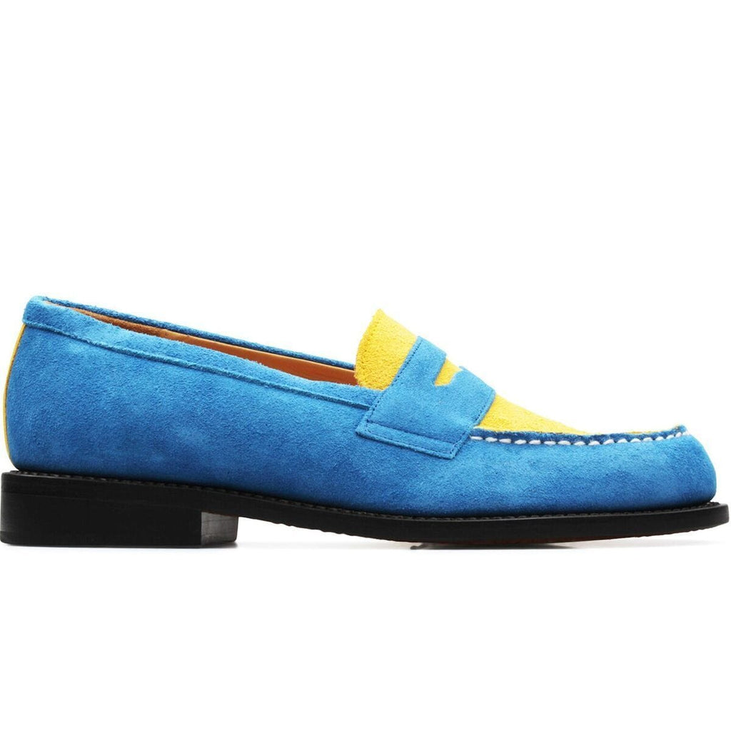 Hender Scheme TYPICAL COLOR EXCEPTION LOAFER #04 (Blue/Yellow)