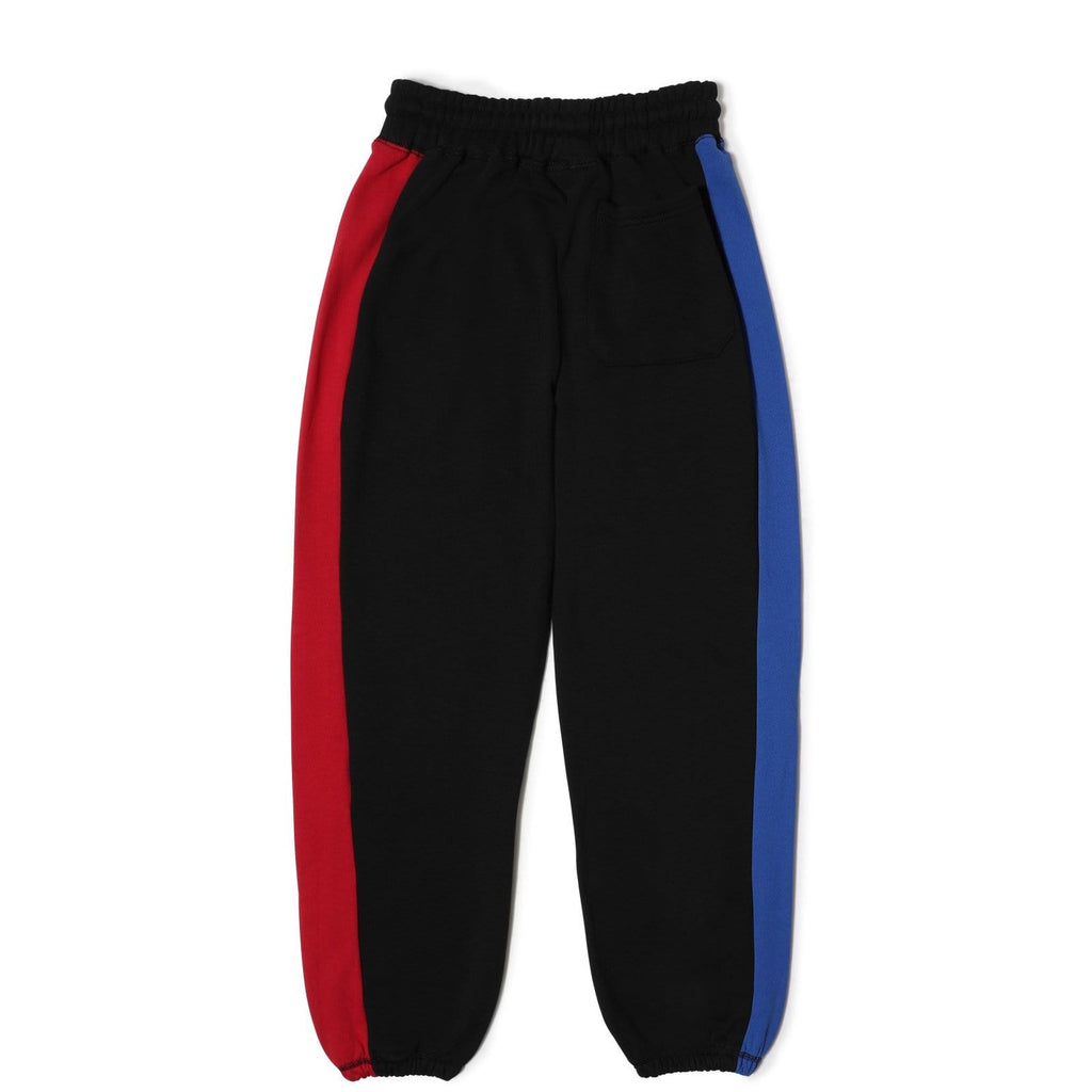 Pleasures SPLIT COLOR SWEATPANTS (Black)