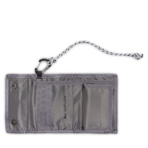 and wander Bags & Accessories LGRAY / OS REFLECTIVE RIP WALLET