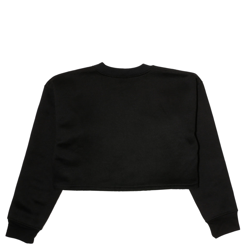 Disco Tuesdays DANCE EMOTIONS CROPPED PULLOVER Black