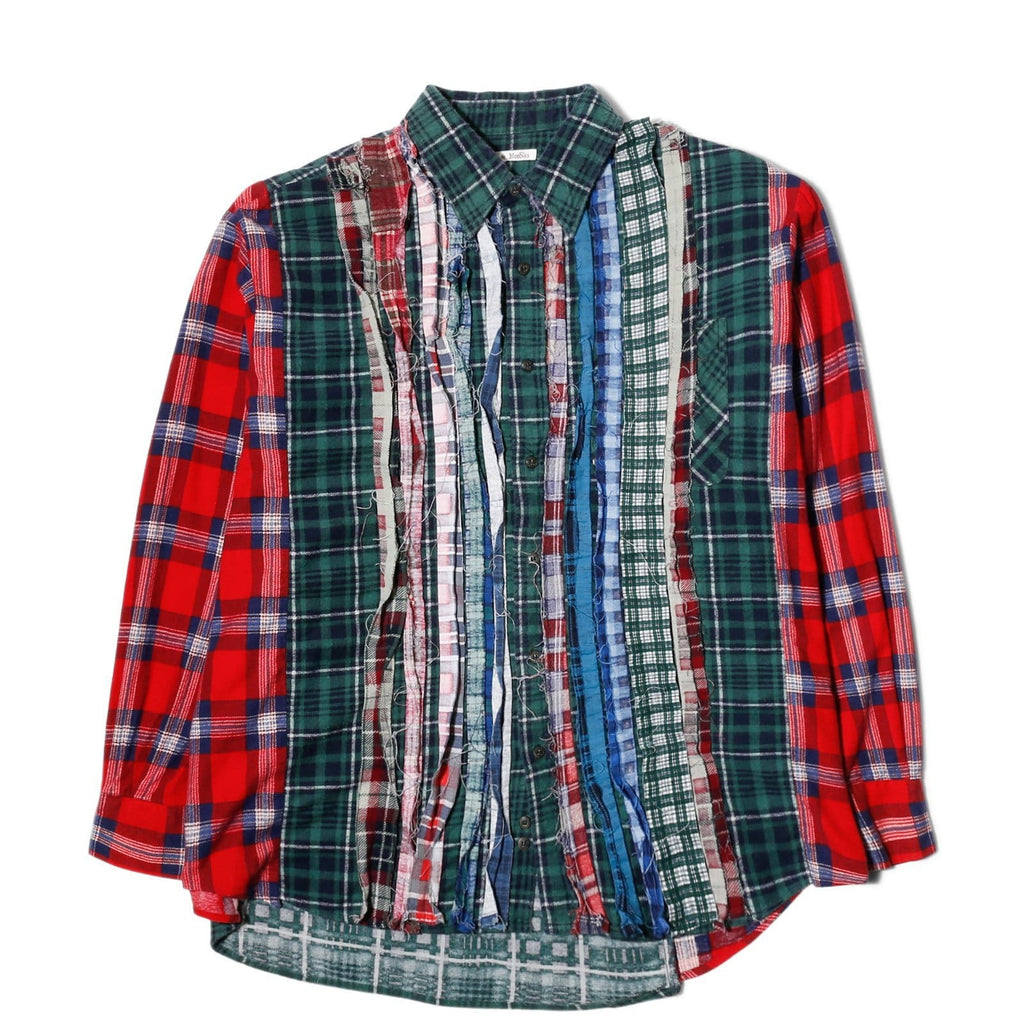 Needles WIDE RIBBON FLANNEL SHIRT 5 Assorted Colors