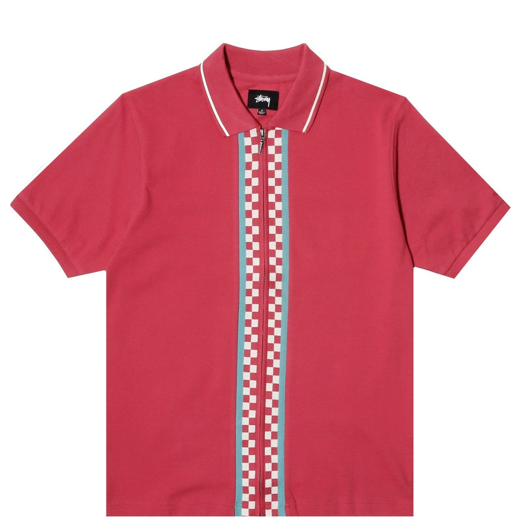Stussy Shirts JULIAN FULL ZIP POLO