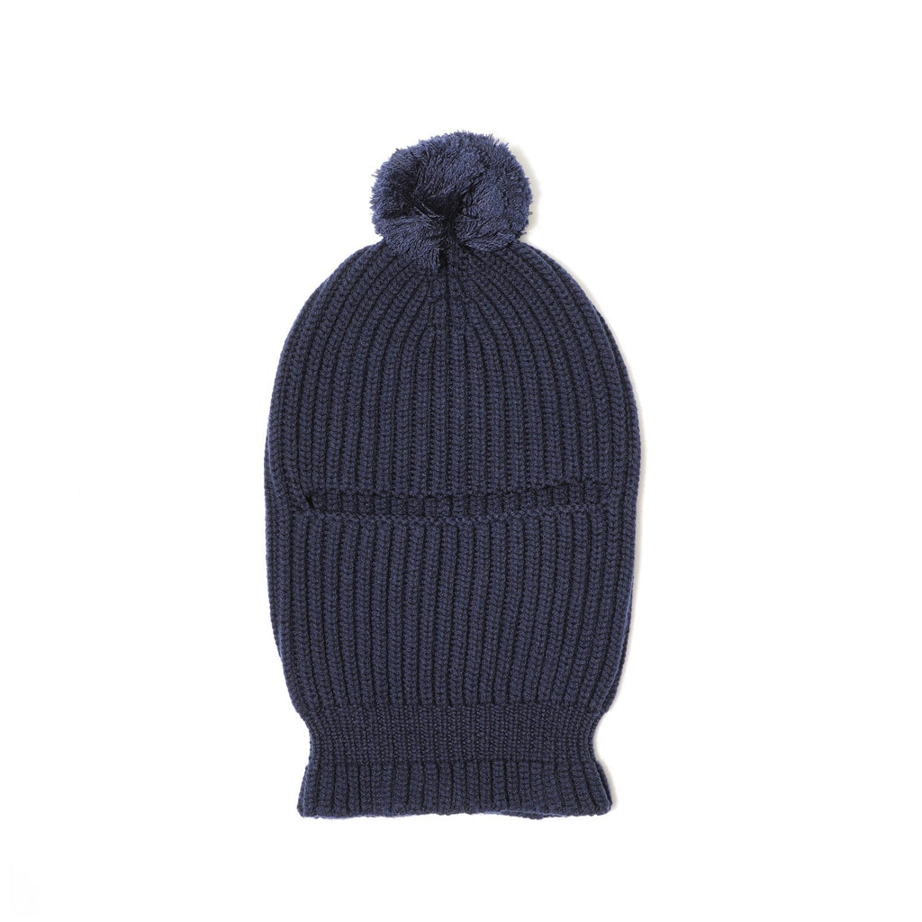 Engineered Garments FACE BEANIE Navy Knit