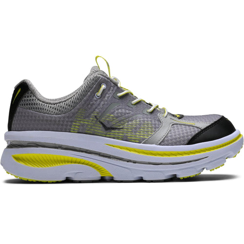 Hoka One One BONDI B Grey/Citrus