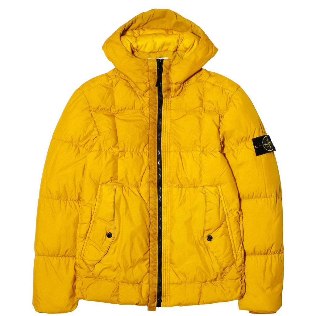 e6af0e4f80 Stone Island REAL DOWN OUTERWEAR 691541223 Mustard