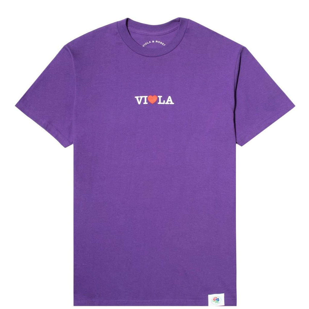 Viola and Roses T-Shirts I LOVE LA 2 S/S SOUVENIR TEE