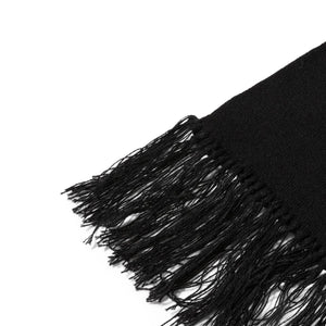Fucking Awesome Bags & Accessories BLACK / O/S STAMP SCARF WITH FRINGE