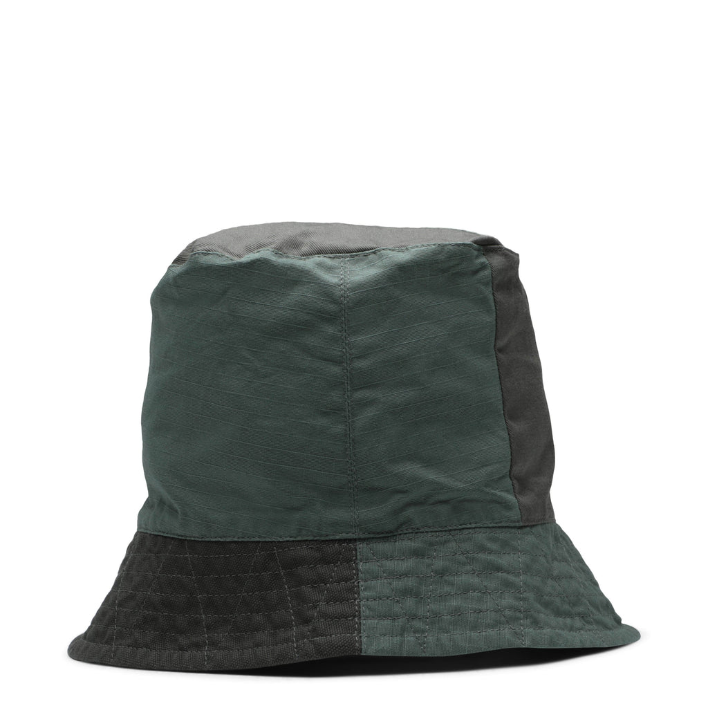 7df9afb7c71 Engineered Garments BUCKET HAT Olive Cotton Ripstop