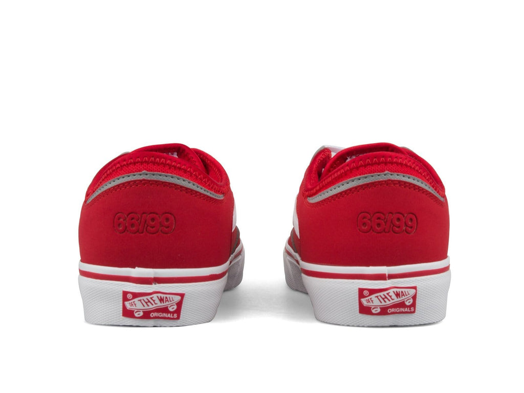 Vault by Vans UA ROWLEY CLASSIC LX Racing Red/White
