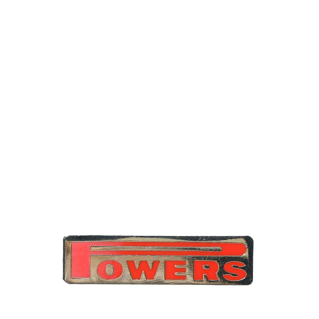POWERS ENAMEL PIN Gold Plated