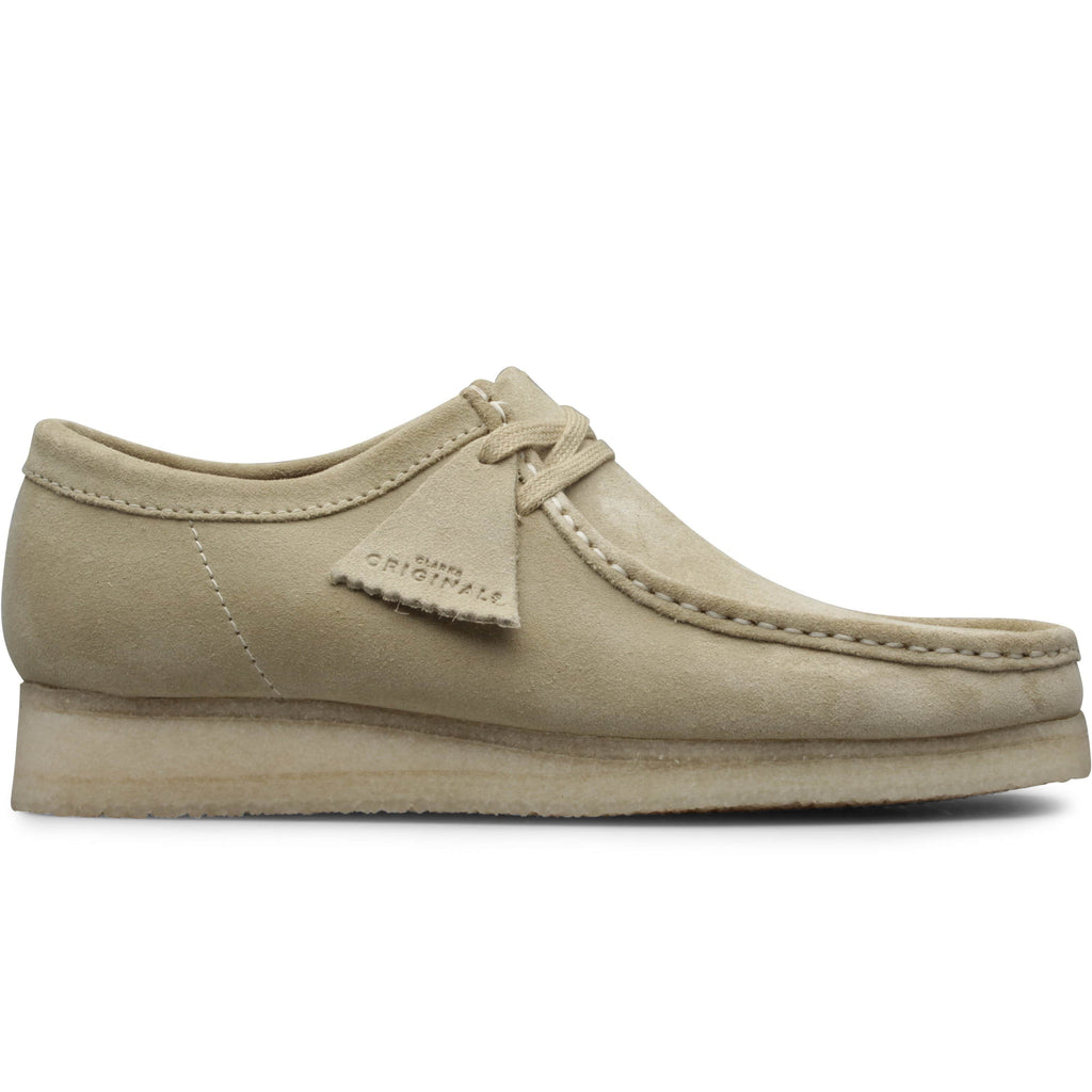 Clarks WALLABEE Maple Suede