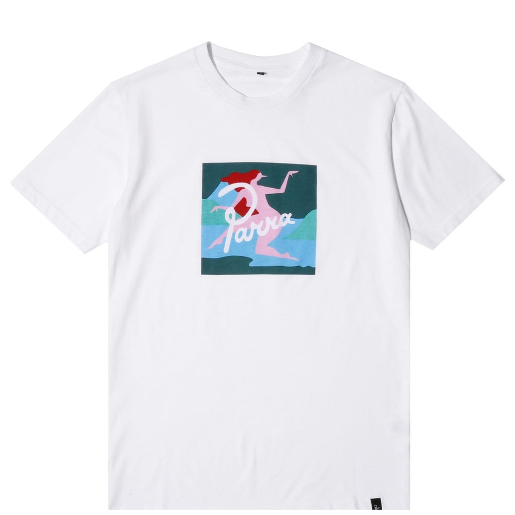 By Parra T-SHIRT LAGOON White