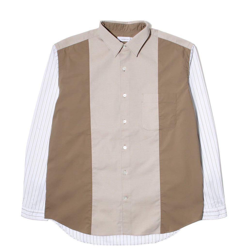 Nanamica WIND PANEL SHIRT Beige