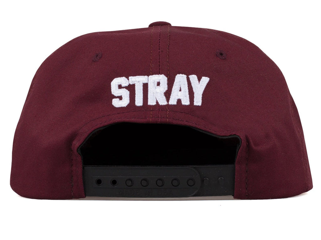 Stray Rats S.R HAT Burgundy