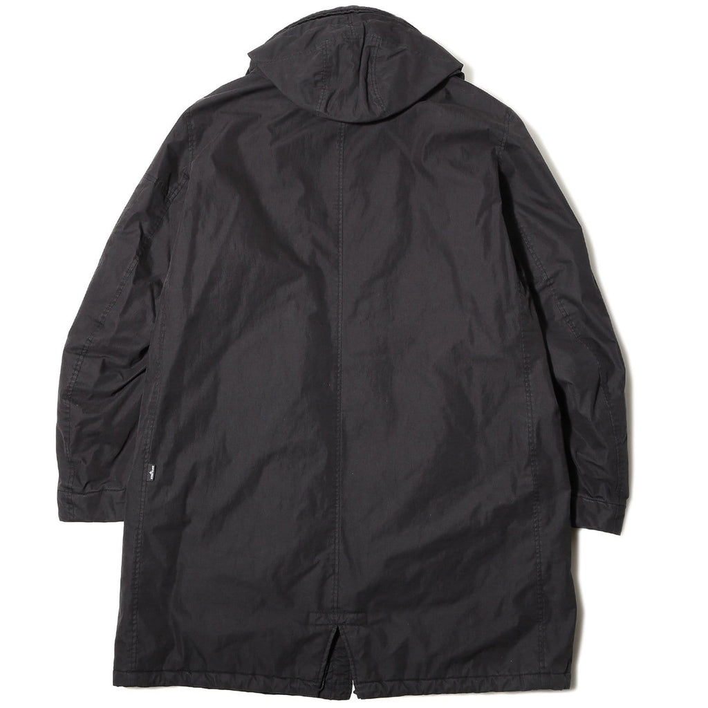 Stone Island Shadow Project Padded Fishtail Parka Black