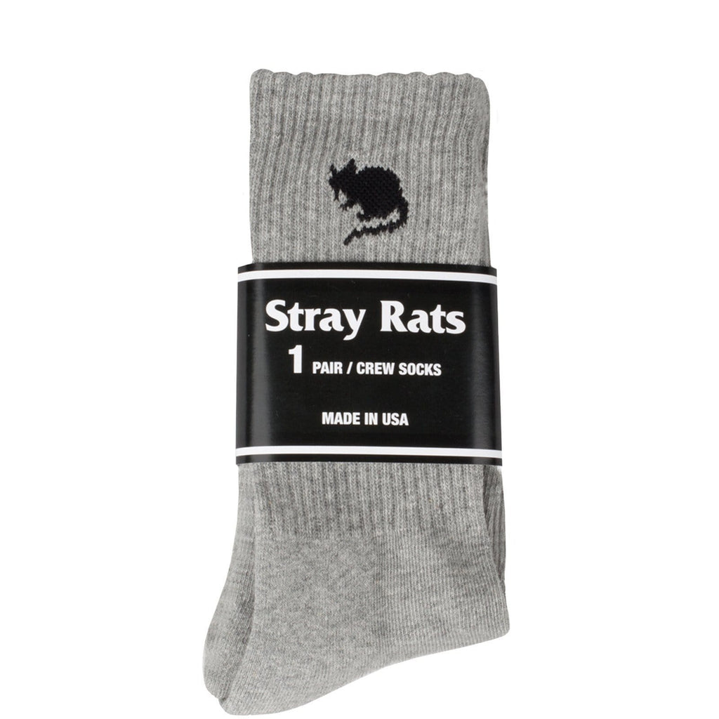 Stray Rats LOGO SOCK Grey